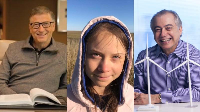 Brasileiro aparece ao lado de Bill Gates e Greta Thunberg em lista de pioneiros e líderes no combate à crise climática