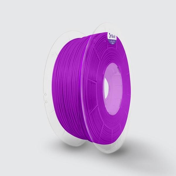O filamento do plástico biodegradável