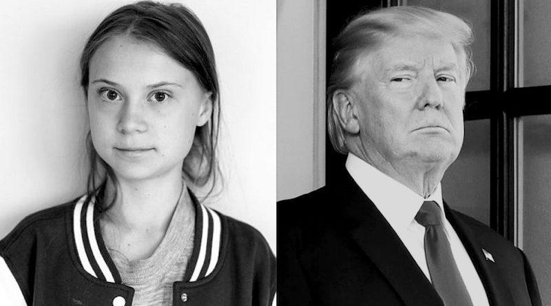 Em Davos, Greta Thunberg quer que CEOs e líderes governamentais abandonem os combustíveis fósseis. Trump foi, Bolsonaro, não