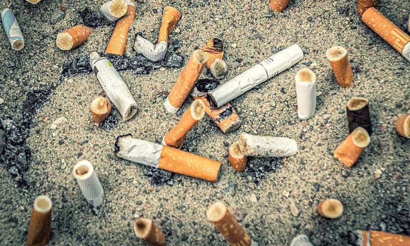 Paulistano que jogar bituca de cigarro na rua poderá pagar multa de até 500 reais