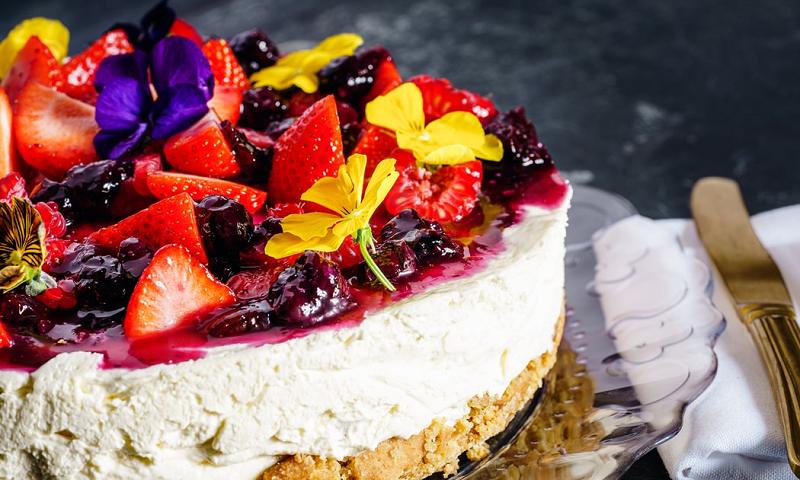 Cheesecake para adoçar a quarentena