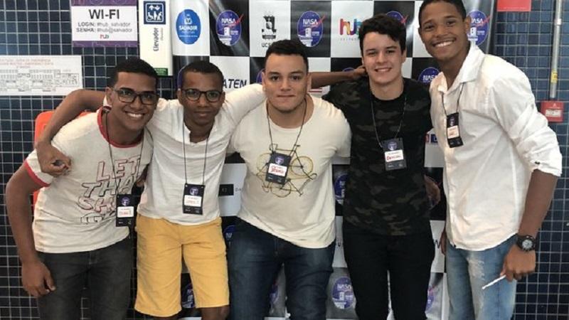 Com projeto de limpeza dos oceanos, estudantes baianos vencem competição mundial da NASA