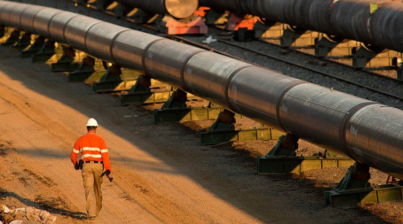 Tubulação de gás natural em Queensland