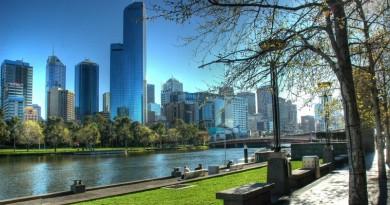 parque em melbourne, na austrália