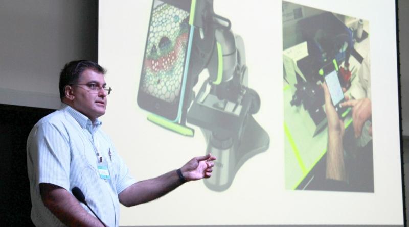 Pesquisadores desenvolvem aplicativo para ajudar no diagnóstico da malária.