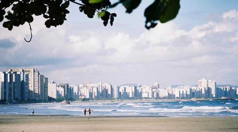 praia de santos que poderá ser afetada pelas mudanças climáticas