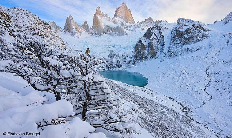 paisagem na neve