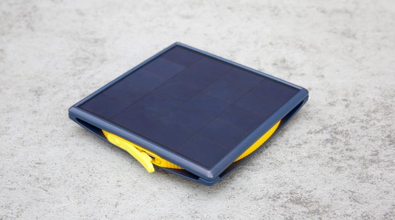 células do recarregador solar Little Sun