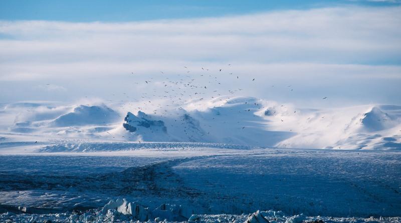 geleiras do ártico sofrem com aquecimento global