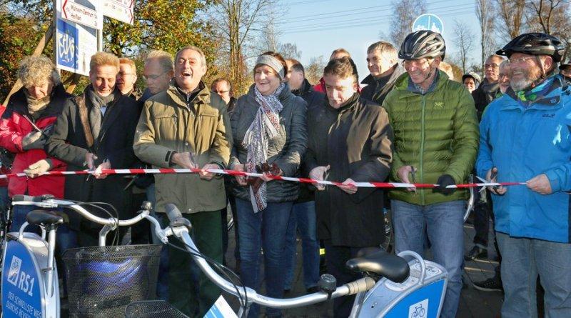 Alemanha inaugura ciclovia gigante