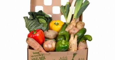 """Para reduzir desperdício de alimentos, rede britânica de supermercados lança caixa com verduras e vegetais """"feios""""e 30% mais baratos"""