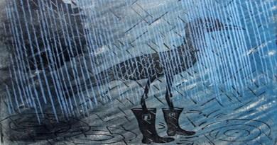 Obras de arte que mostram o poder da água e inundação sobre cidades
