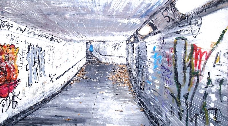 Subway twenty one. Simon Hopkinson Art