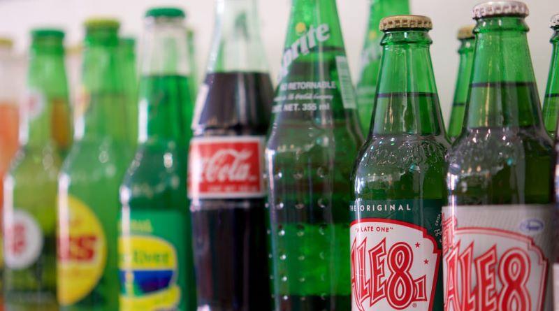refrigerantes com açúcar