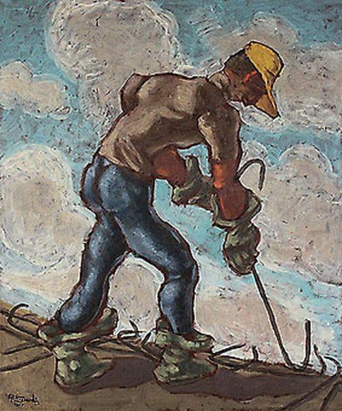 """obra """"os vergalhões""""de Eugênio de Proença Sigaud"""