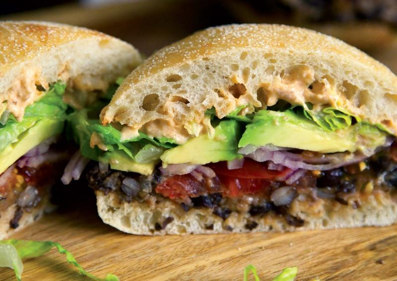 sanduíche do livro vegano sem frescura