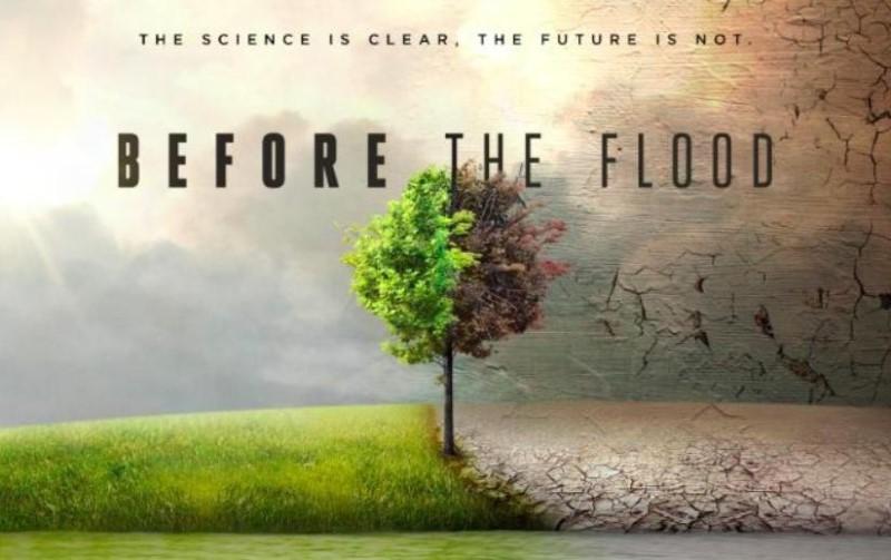 """Leonardo DiCaprio lança documentário """"Before the Flood"""" sobre mudanças climáticas"""