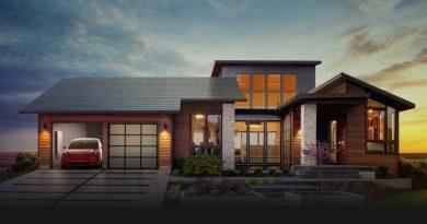 Tesla revela suas telhas solares