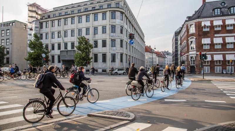 Número de bicicletas ultrapassa o de carros em Copenhague