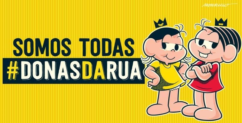 Você também é #DonaDaRua? Então compartilhe sua história!