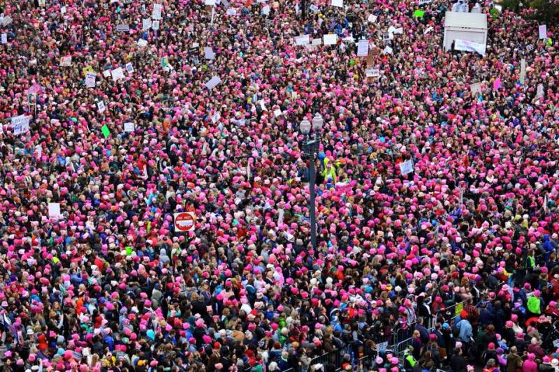 Por que milhões de mulheres foram às ruas?