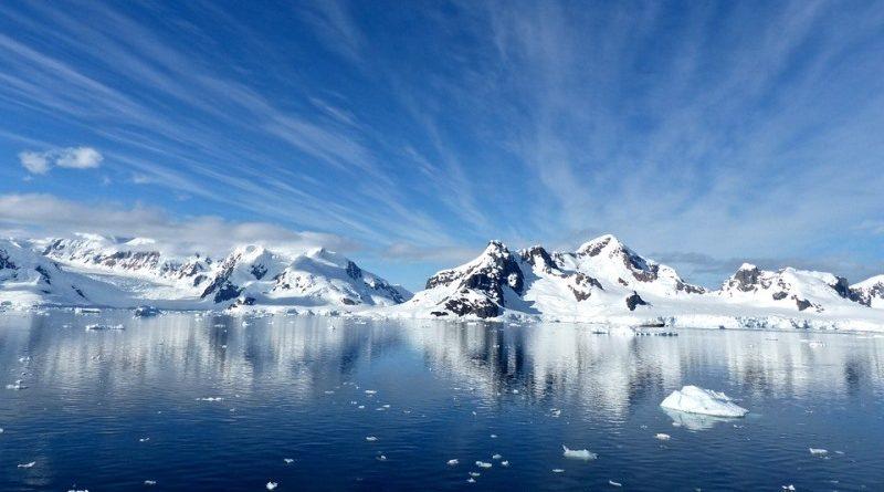 derretimento do gelo na Antártica