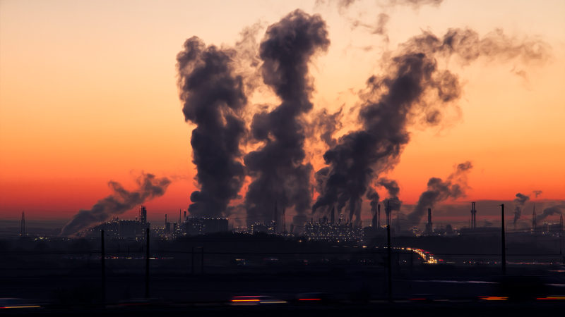 emissões de poluentes