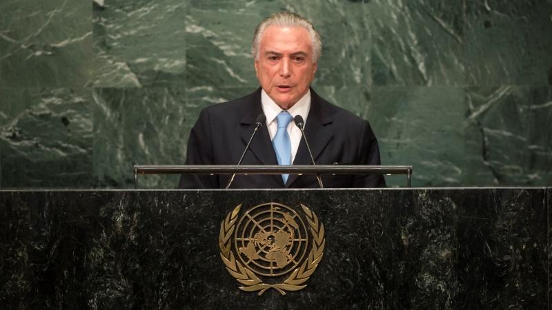 """Temer mente na ONU ao afirmar que """"desmatamento na Amazônia diminui"""", afirmam autores de estudo citado"""