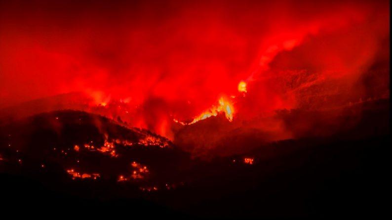 incêndio provocado pelo verão extremo na europa