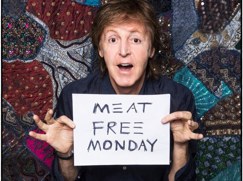 "Paul McCartney faz campanha pela ""Segunda Sem Carne"" na turnê pelo Brasil"