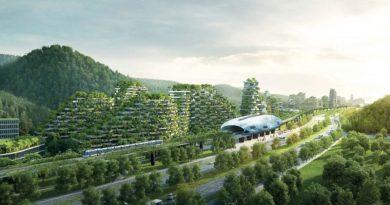 """Cidade """"floresta"""" chinesa terá 40 mil árvores e 1 milhão de plantas"""