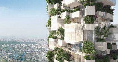 Paris vai ganhar sua primeira floresta vertical