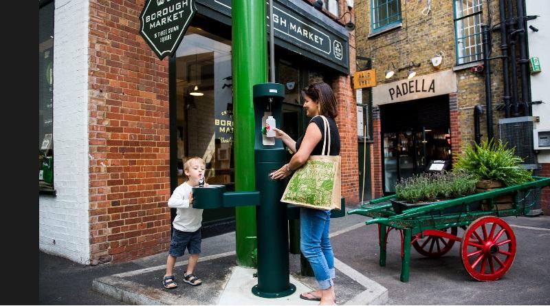 Londres instalará bebedouros pela cidade para combater uso de garrafas plásticas