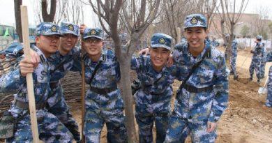 China usa 60 mil soldados para fazer plantio de árvores