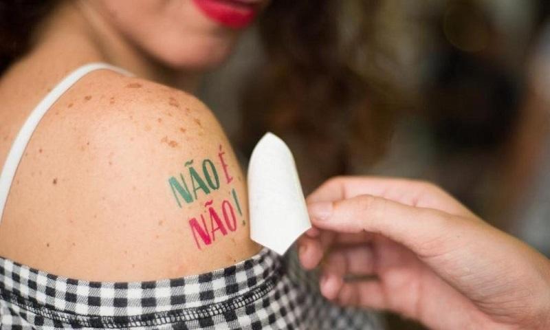 Este corpo é meu! Neste carnaval, #NãoÉNão! Chega de assédio!