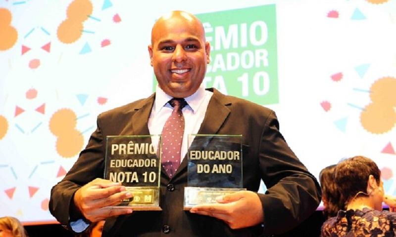 """Diretor de escola pública do interior paulista é finalista do Global Teacher Prize, o """"Nobel"""" da Educação"""