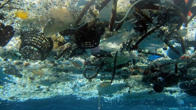 mancha lixo do Pacífico