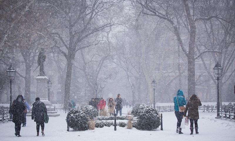 Sabe aquela nevasca em Nova York? Põe na conta do aquecimento global