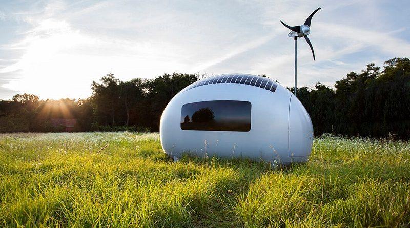 Primeira casa móvel totalmente autônoma em energia já está à venda