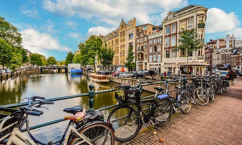 Amsterdam, a cidade das bicicletas