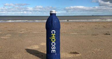 garrafa biodegradável
