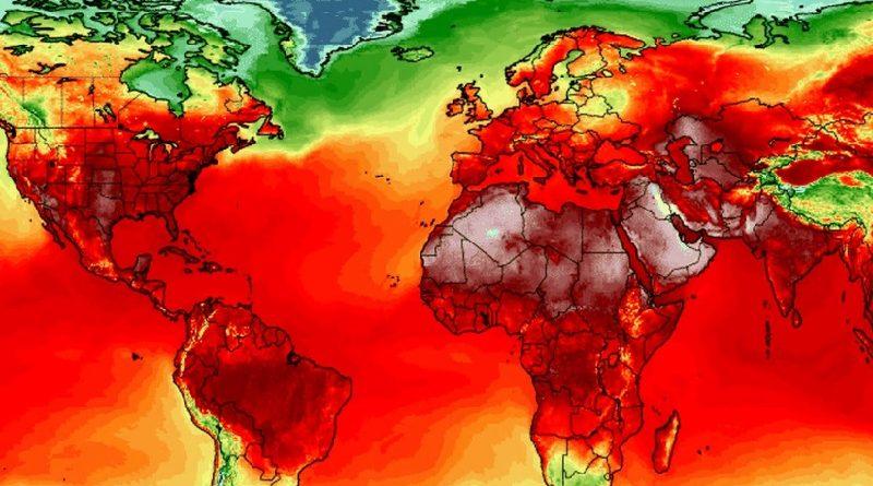 Planeta tem a semana mais quente da história