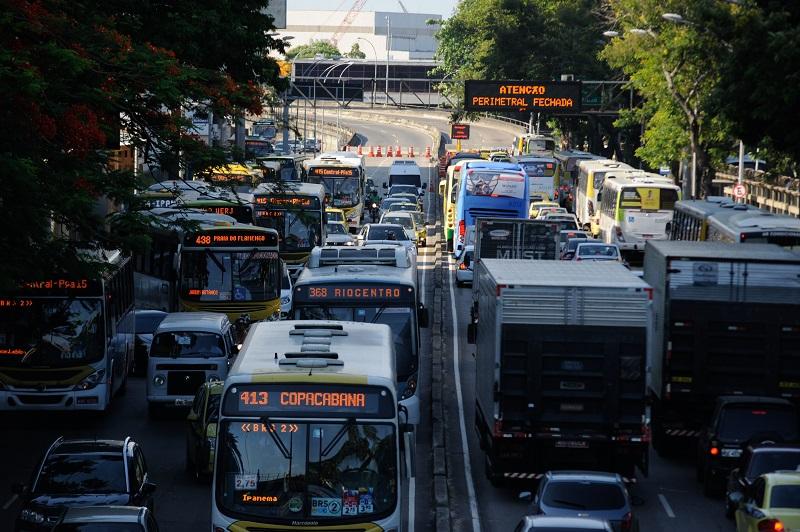 Rio de Janeiro aparece como a cidade com a pior mobilidade do mundo em ranking internacional