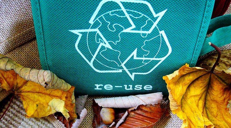 símbolo de reciclagem