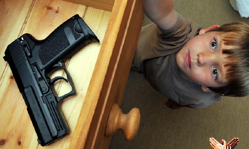 #PenseDireitoNoSeuDireito: você quer mesmo ter uma arma de fogo em casa?
