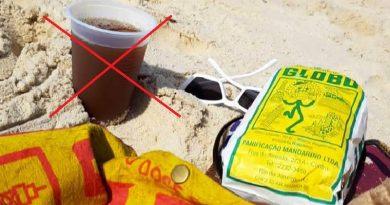 Depois do canudo, Rio de Janeiro poderá banir copos plásticos