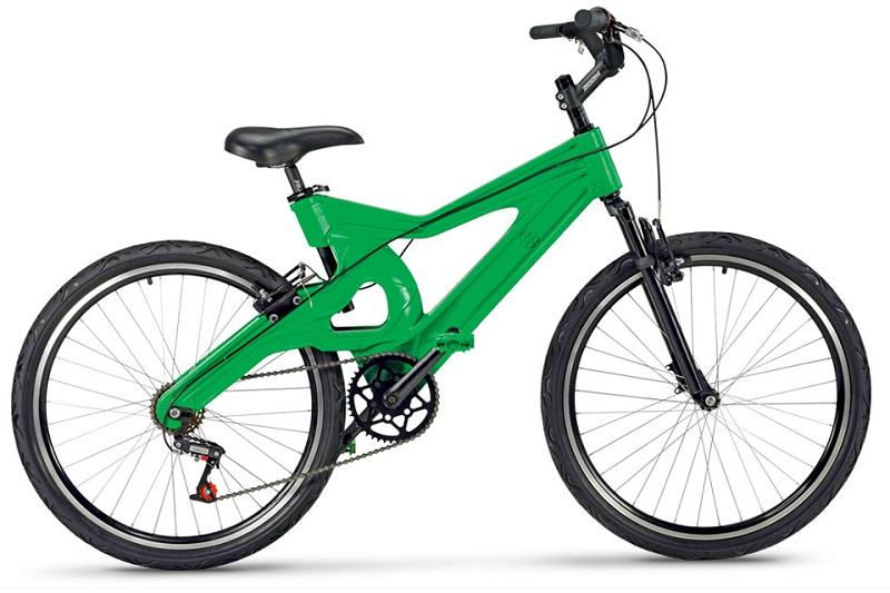 Feita de plástico reciclado, bicicleta sustentável brasileira ganha o mundo