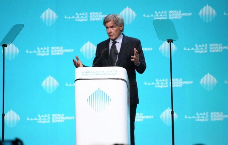 """""""Líderes que negam as mudanças climáticas estão do lado errado da história"""", acusa Harrison Ford"""