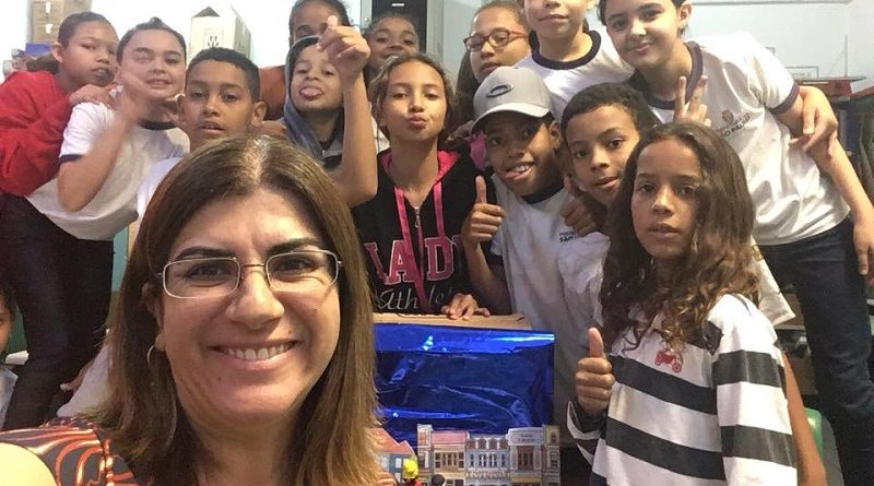 professora paulista que concorre ao Global Teacher Prize