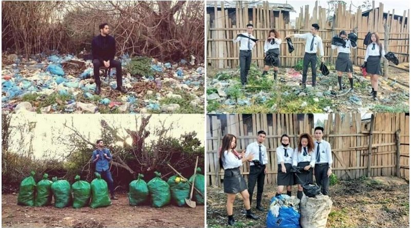 #DesafioDoLixo viraliza nas redes sociais ao estimular as pessoas a limpar sua cidades